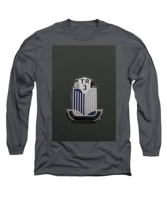 Tr3 Hood Ornament 2 Long Sleeve T-Shirt
