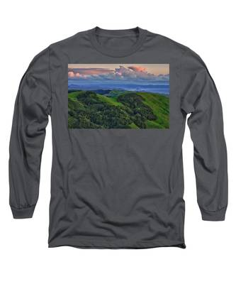 View Of Morro Bay Long Sleeve T-Shirt