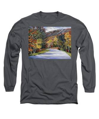 Waterville Road New Hampshire Long Sleeve T-Shirt