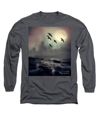Winter Golden Hour Long Sleeve T-Shirt