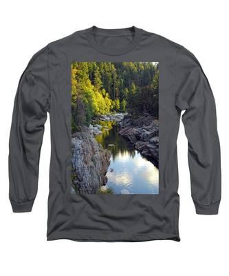 Yuba River Twilight Long Sleeve T-Shirt