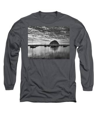 Morro Bay On Fire Long Sleeve T-Shirt