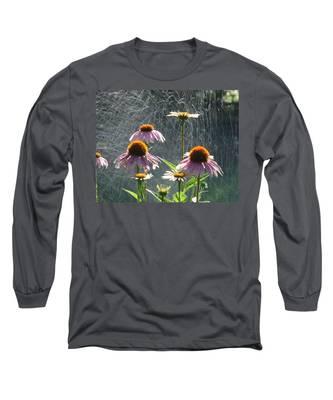 Flowers In The Rain Long Sleeve T-Shirt