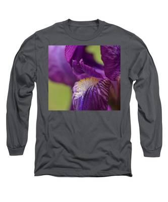 Purple Iris 1 Long Sleeve T-Shirt