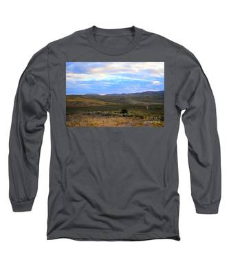 Stormy Wyoming Sunrise I Long Sleeve T-Shirt
