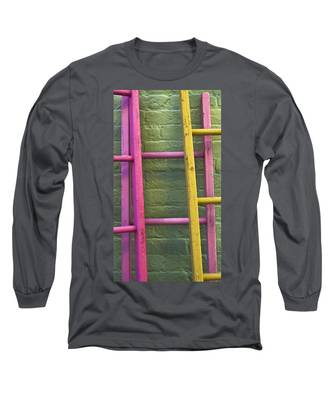 Long Sleeve T-Shirt featuring the photograph Upwardly Mobile by Skip Hunt