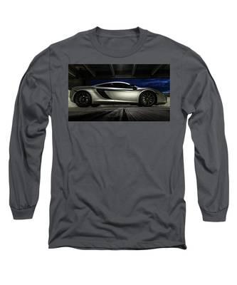 2012 Mclaren Mp4-12c Long Sleeve T-Shirt
