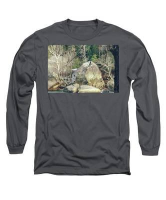 Across From Eagle Falls Long Sleeve T-Shirt