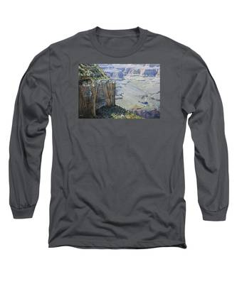 Afternoon At The Canyon Long Sleeve T-Shirt