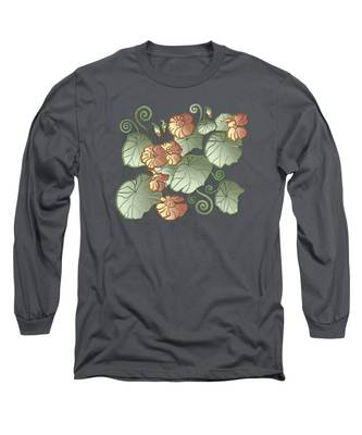 Art Nouveau Garden Long Sleeve T-Shirt