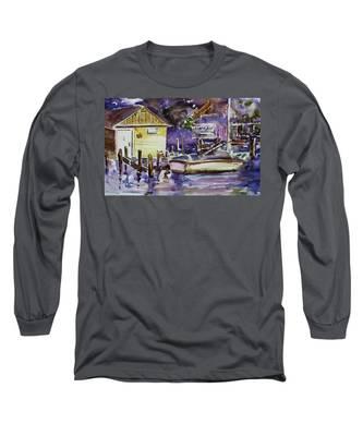 At Boat House 3 Long Sleeve T-Shirt
