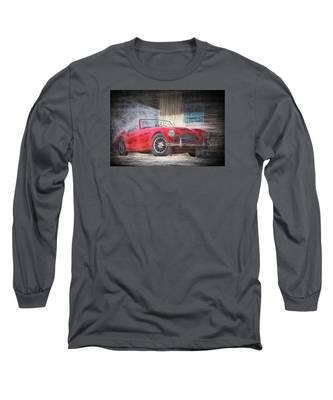 Austin Healey Chalk Study 4 Long Sleeve T-Shirt