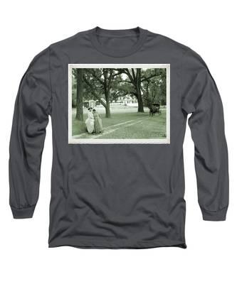 Back In Time At Hardman Farm Long Sleeve T-Shirt