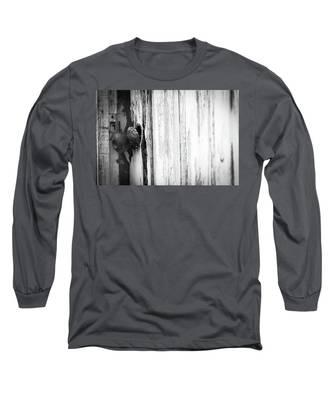 Behind Closed Doors Long Sleeve T-Shirt