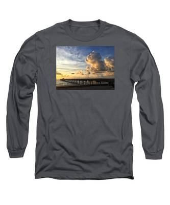 Big Cloud And The Pier, Long Sleeve T-Shirt