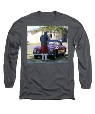 Big Man Little Car Long Sleeve T-Shirt