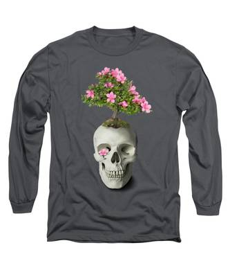 Bonsai Skull Long Sleeve T-Shirt