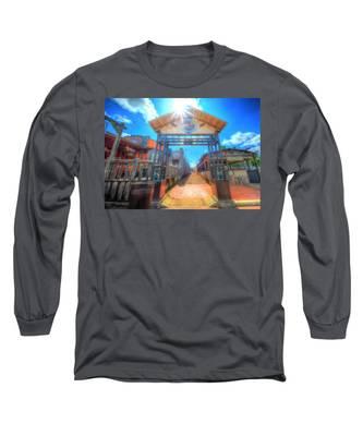 Bottle Cap Alley Long Sleeve T-Shirt