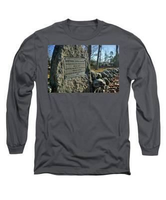 Captain John Locke Monument  Long Sleeve T-Shirt
