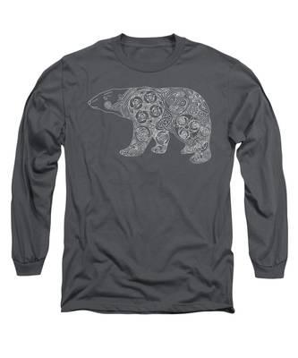 Celtic Polar Bear Long Sleeve T-Shirt