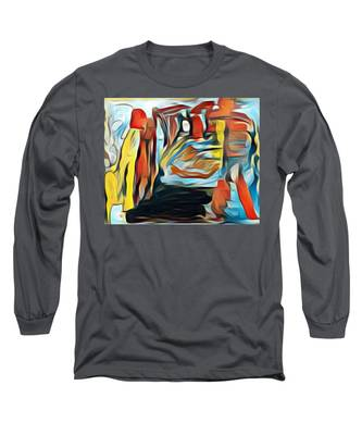 Death To The Titans Long Sleeve T-Shirt