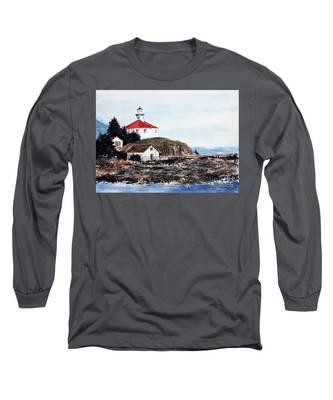 Eldred Rock Lighthouse Long Sleeve T-Shirt