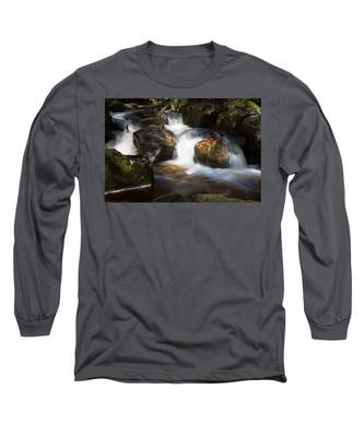 first spring sunlight on the Warme Bode, Harz Long Sleeve T-Shirt