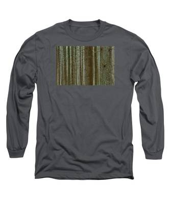 Forest Pattern Long Sleeve T-Shirt
