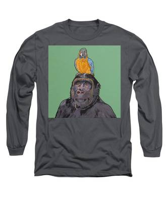 Gregory The Gorilla Long Sleeve T-Shirt