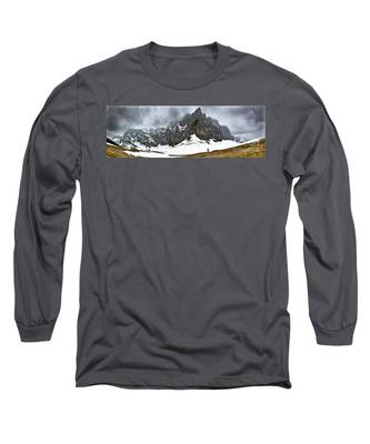 Hiking In The Alps Long Sleeve T-Shirt