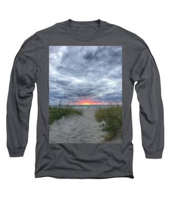 Hope On The Horizon Delray Beach Florida  Long Sleeve T-Shirt