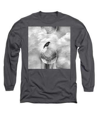 It's A Crow's World Long Sleeve T-Shirt