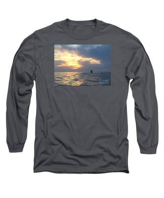 Watching Over The Inlet Long Sleeve T-Shirt