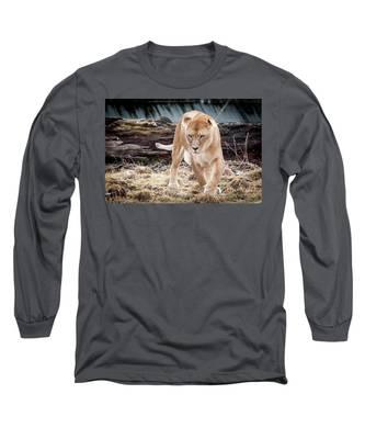 Lion Eyes Long Sleeve T-Shirt