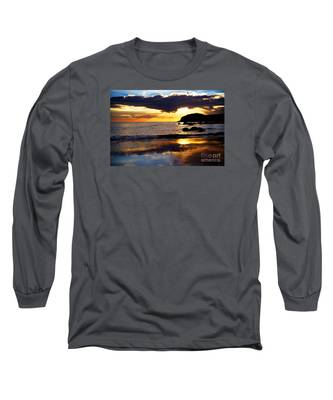 Llangennith Gower Coast Long Sleeve T-Shirt