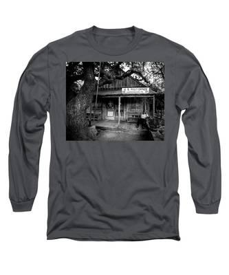 Luckenbach Texas Long Sleeve T-Shirt