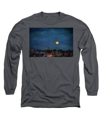 Manhattan Moonrise Long Sleeve T-Shirt