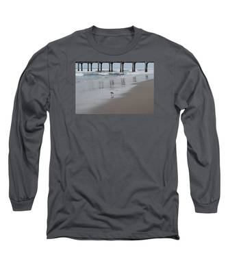 Marbled Gotwit By Mike-hope Long Sleeve T-Shirt