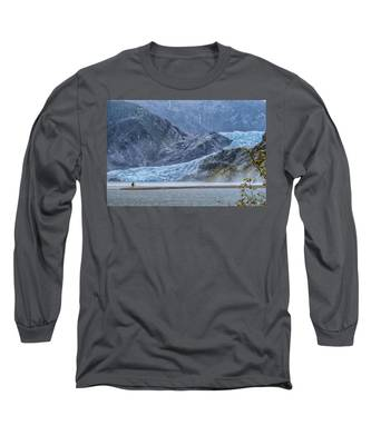 Mendenhall Glacier Long Sleeve T-Shirt