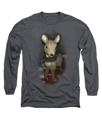 Merry Christmas Deer Long Sleeve T-Shirt
