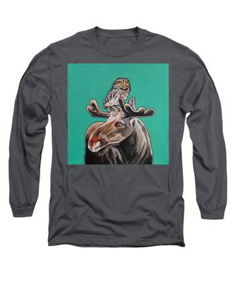 Mike The Moose Long Sleeve T-Shirt
