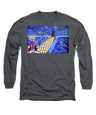 Moooshe And The Red Sea Long Sleeve T-Shirt