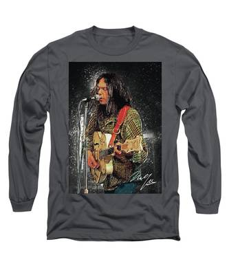 Leon Russell Long Sleeve T-Shirts
