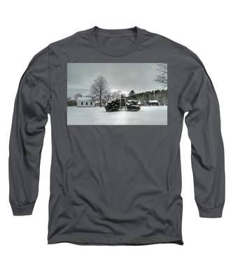 Newbury Lower Green Long Sleeve T-Shirt