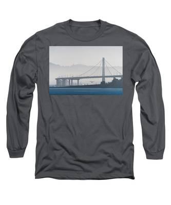 Oakland Bay Bridge Long Sleeve T-Shirt