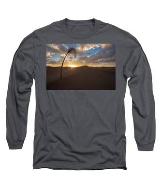 Palm On Dune Long Sleeve T-Shirt
