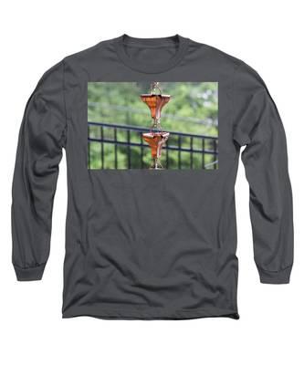 Rain Chains Long Sleeve T-Shirt