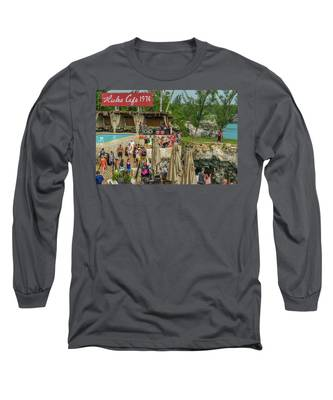 Rick's Cafe In Negril, Jamaica Long Sleeve T-Shirt