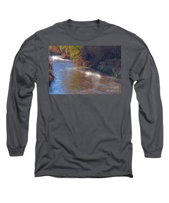 Santa Cruz River - Arizona Long Sleeve T-Shirt