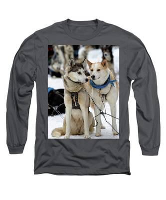 Sled Dogs Long Sleeve T-Shirt